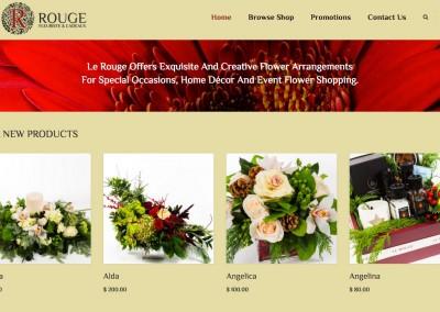 Le Rouge florist